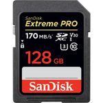 SanDisk 128GB Extreme PRO UHS-I SDXC Memory Card — 35.5€ Photo Emporiki