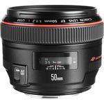 Canon EF 50mm f/1.2L USM Φακός — 1185€ Photo Emporiki