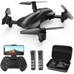 Holy Stone HS165 FPV Drone With 2K Camera and GPS + Extra Battery + Case — 164€ Photo Emporiki