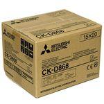 Mitsubishi CK-D868 (10x15cm Χαρτί για CP-D80DW Εκτυπωτή) — 76.65€ Photo Emporiki