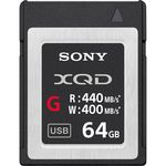 Sony 64GB XQD G Series Κάρτα Μνήμης — 96.8€ Photo Emporiki