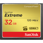SanDisk Extreme CompactFlash 32GB 120MB/s — 28.15€ Photo Emporiki